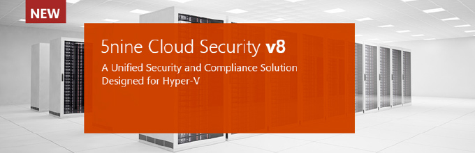 5nine Cloud Security for Hyper-V
